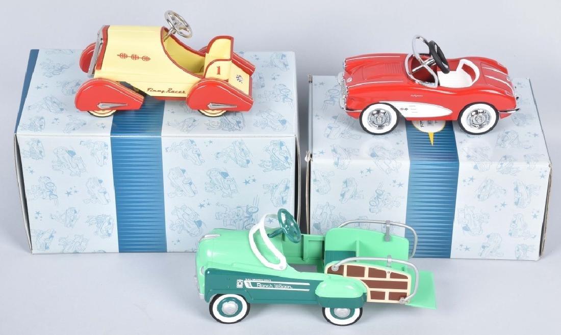 3-HALLMARK KIDDIE CAR CLASSICS
