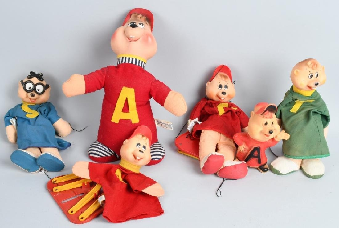 VINTAGE ALVIN & THE CHIPMUNKS LOT