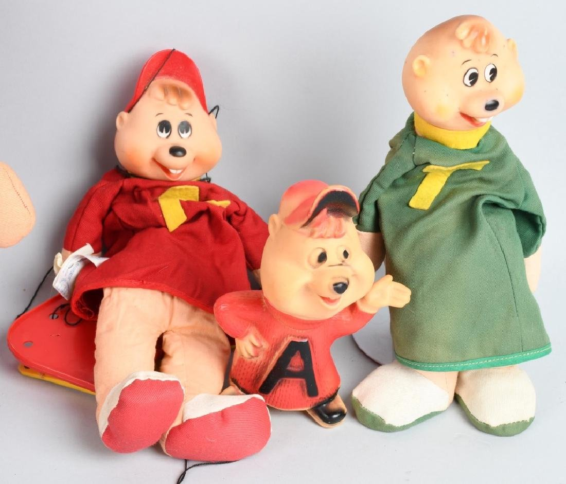 VINTAGE ALVIN & THE CHIPMUNKS LOT - 4