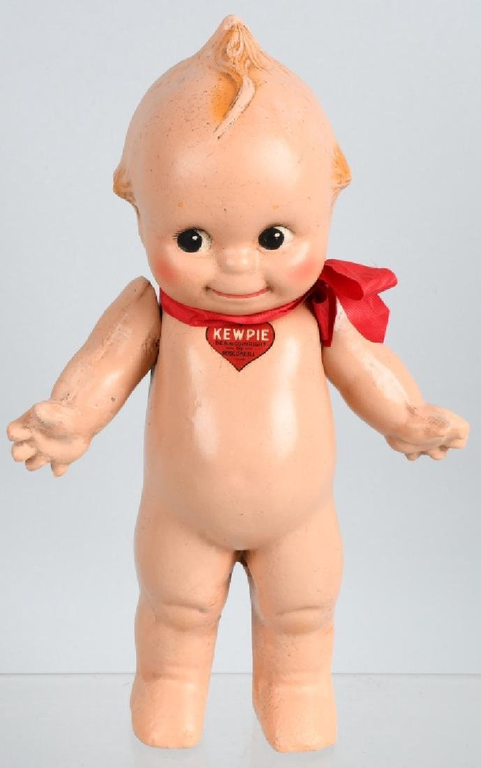 2-COMPOSITION ROSE O'NEILL KEWPIE DOLLS, VINTAGE - 2