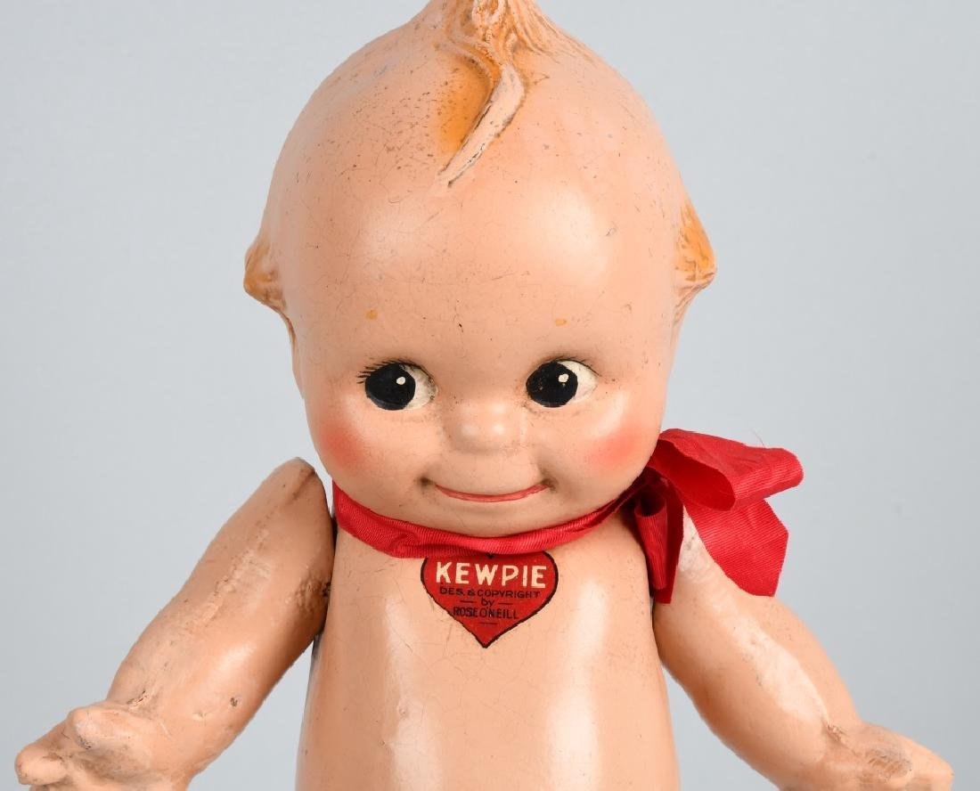 2-COMPOSITION ROSE O'NEILL KEWPIE DOLLS, VINTAGE - 3