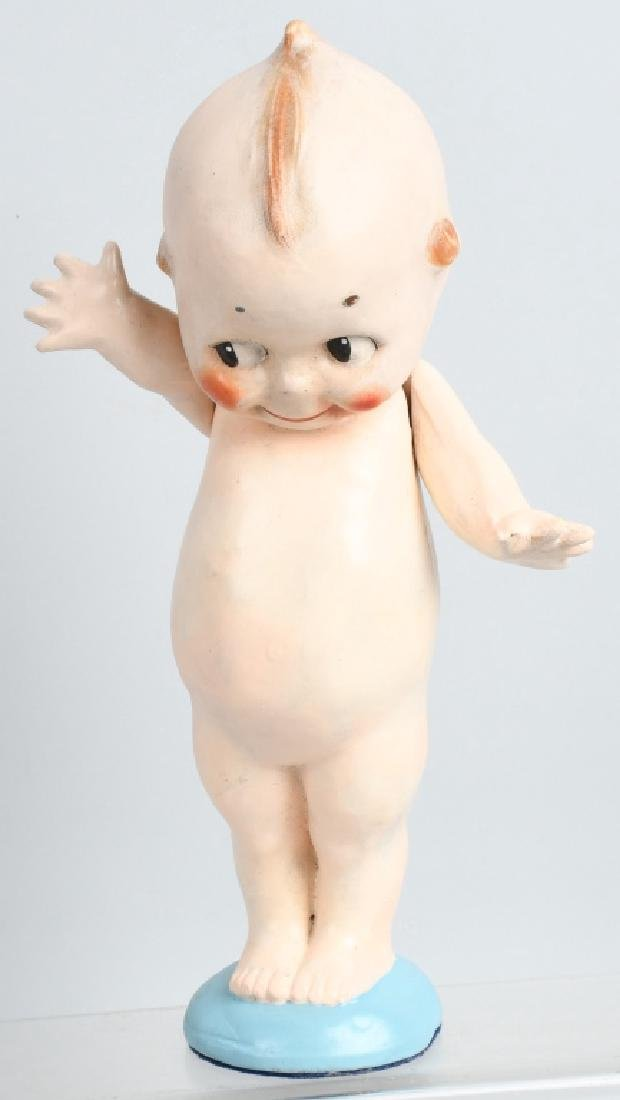 2-COMPOSITION ROSE O'NEILL KEWPIE DOLLS, VINTAGE - 5