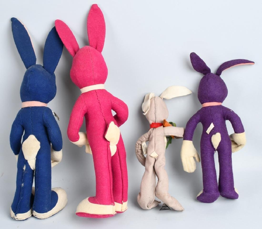 4-EARLY BUGS BUNNY TOY DOLLS - 5