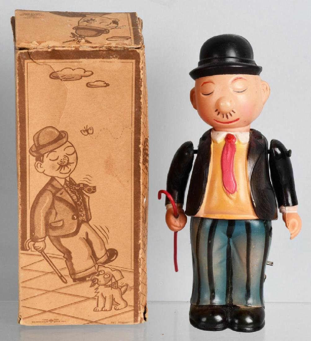 1930's JAPAN CELLULOID WINDUP WIMPY, BOXED