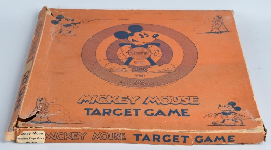 MICKEY MOUSE WDE TARGET GAME, MARX BROS, BOXED - 5