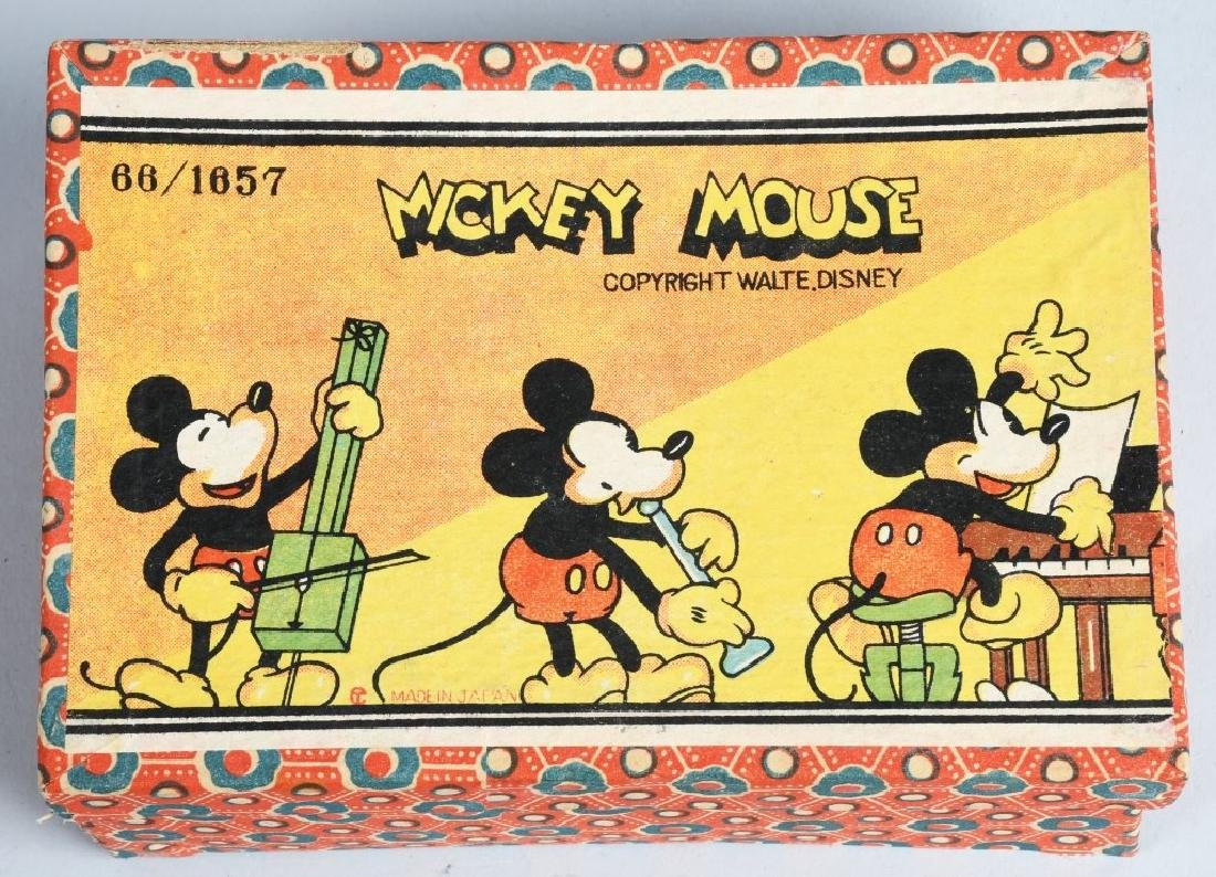 1930's MICKEY MOUSE, 3 PIECE BISQUE SET, BOXED - 4