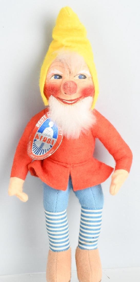 GERMAN KERSA GNOME DOLL with HANG TAG, VINTAGE