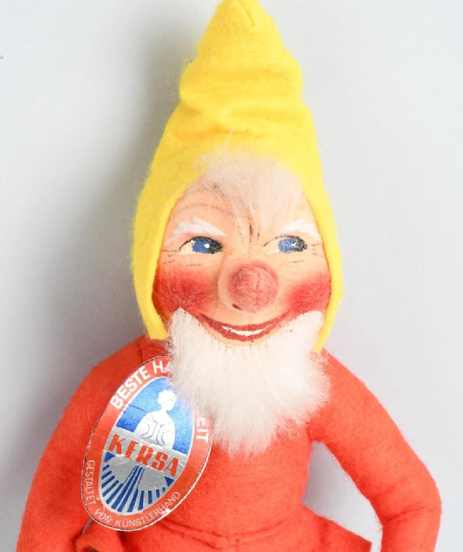 GERMAN KERSA GNOME DOLL with HANG TAG, VINTAGE - 2