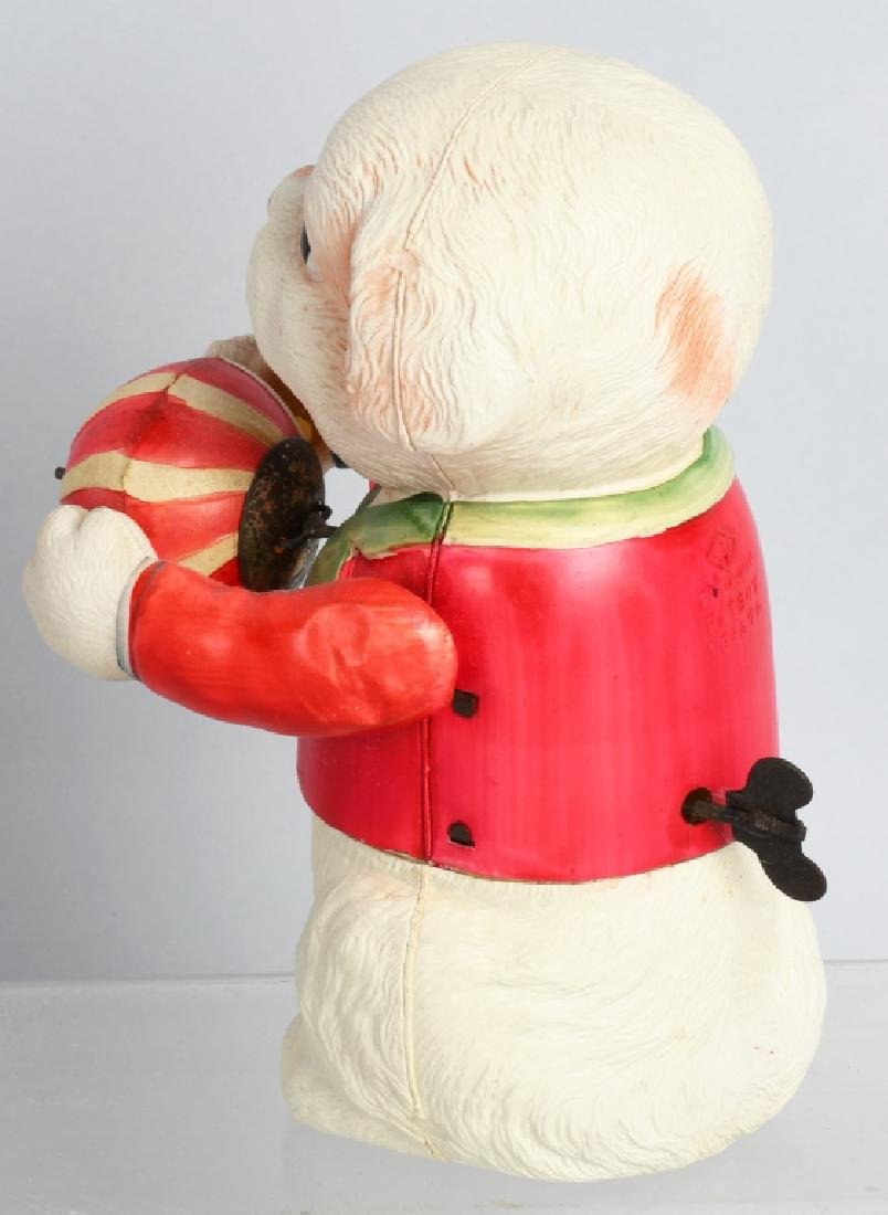1930'S JAPAN CELLULOID LARGE DOG with BALL WINDUP - 2