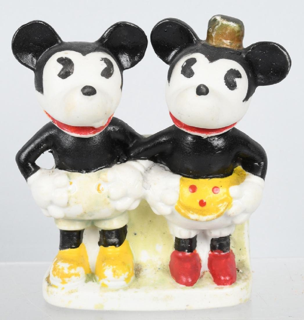 1930's MICKEY & MINNIE TOOTHBRUSH HOLDER
