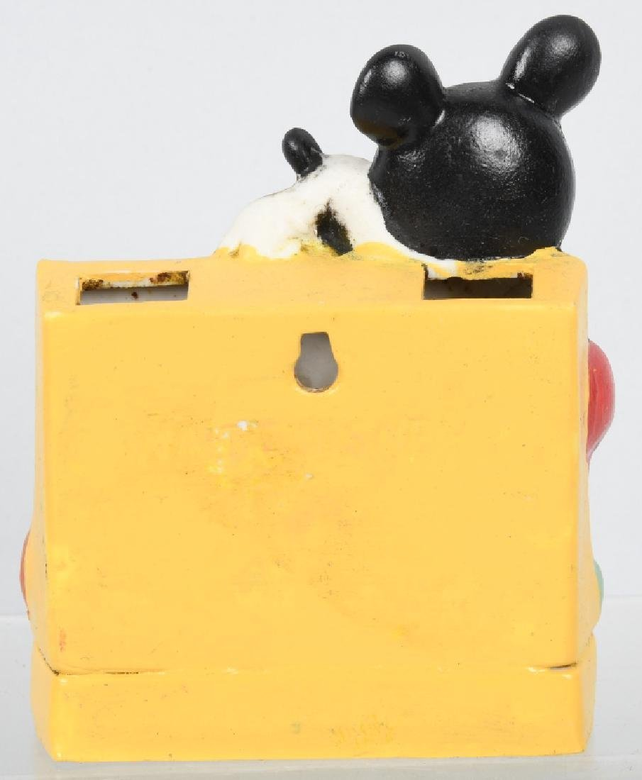 1930'S MICKEY MOUSE & PLUTO TOOTHBRUSH HOLDER - 2