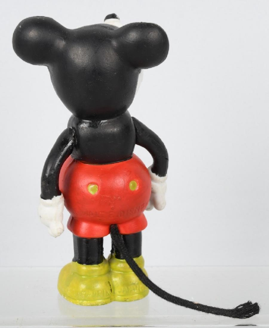 1930'S JAPAN MICKEY MOUSE MOVING ARM BISQUE - 2