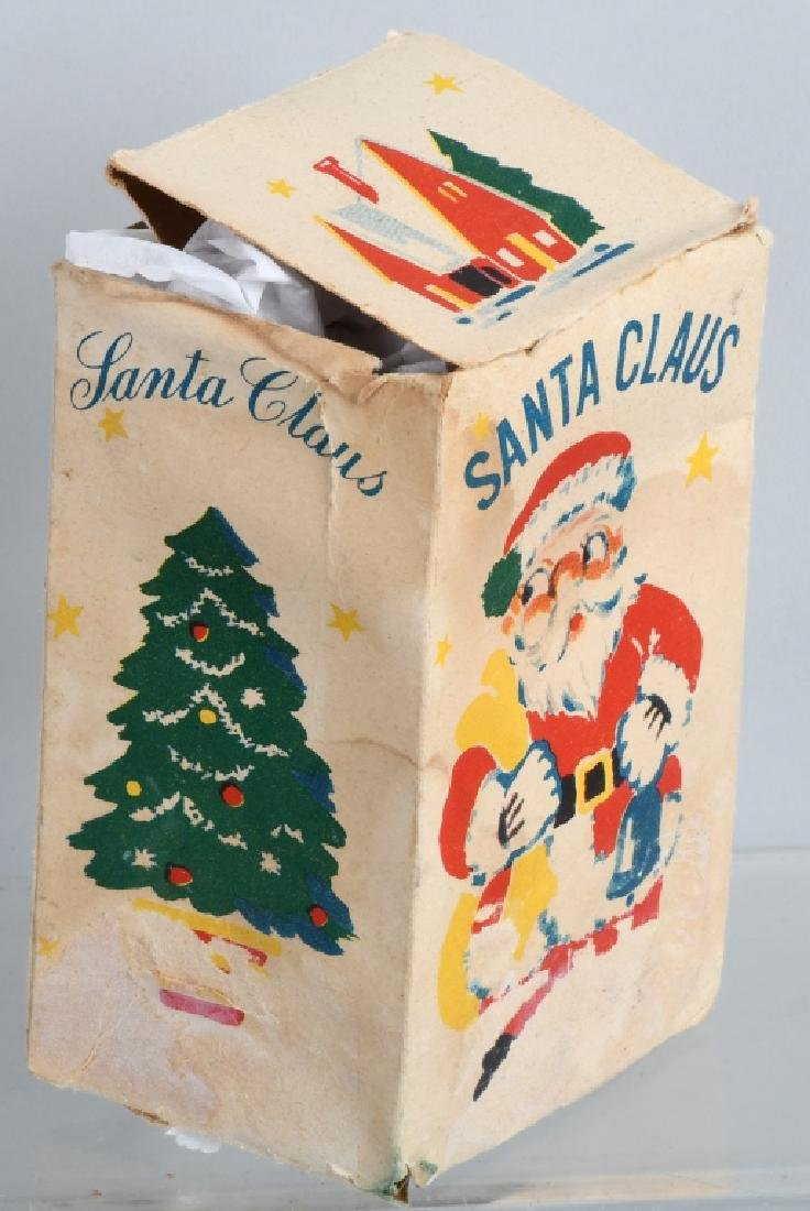 SANTA CLAUS OCCUPIED JAPAN CELLULOID WINDUP, BOX - 5