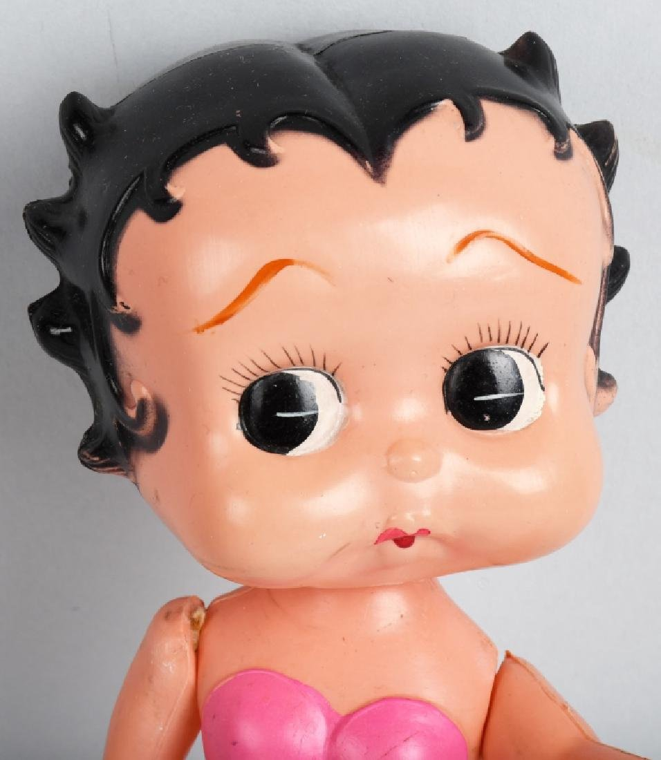 1930's JAPAN CELLULOID BETTY BOOP DOLL - 2