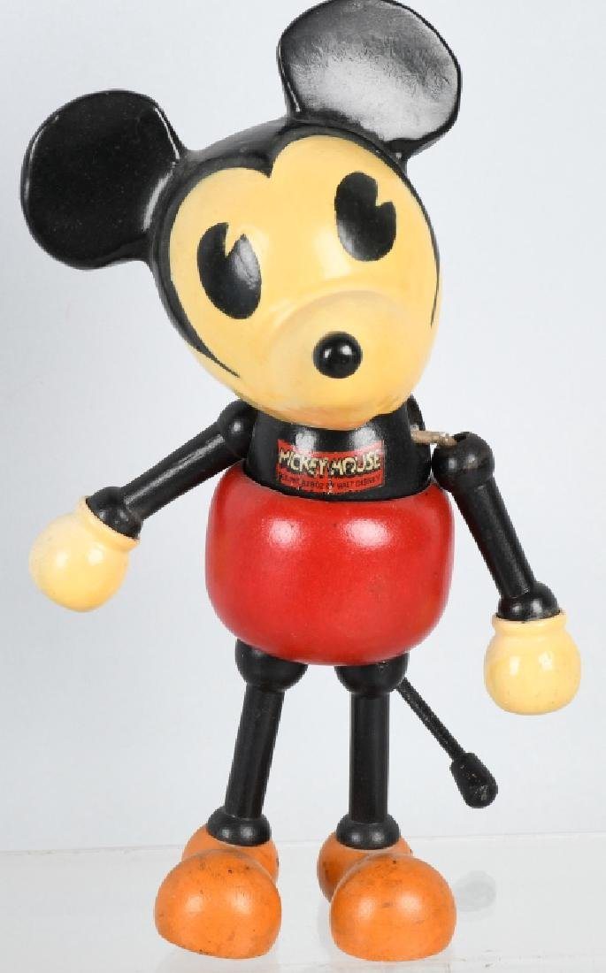 1930'S CAMEO WOOD & COMPOSITION MICKEY MOUSE