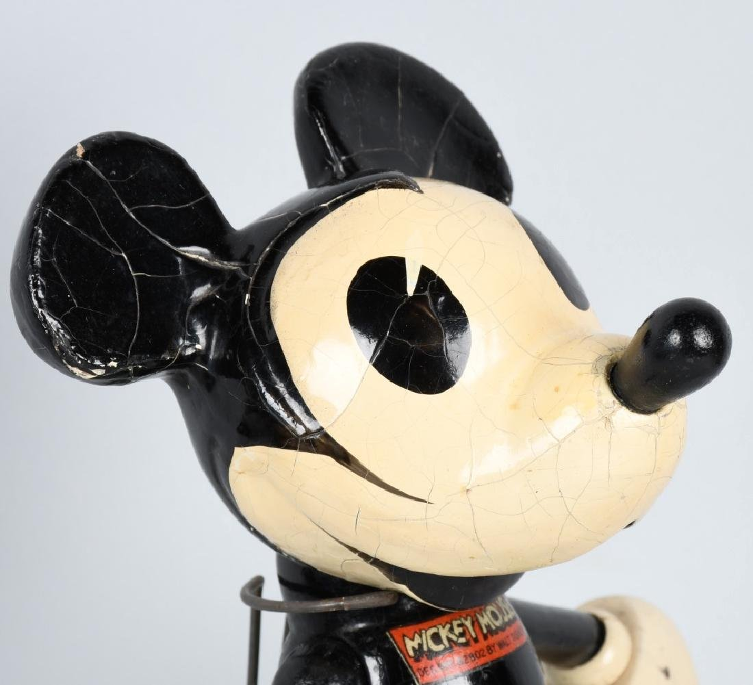 1930'S CAMEO WOOD & COMPOSITION MICKEY MOUSE - 2