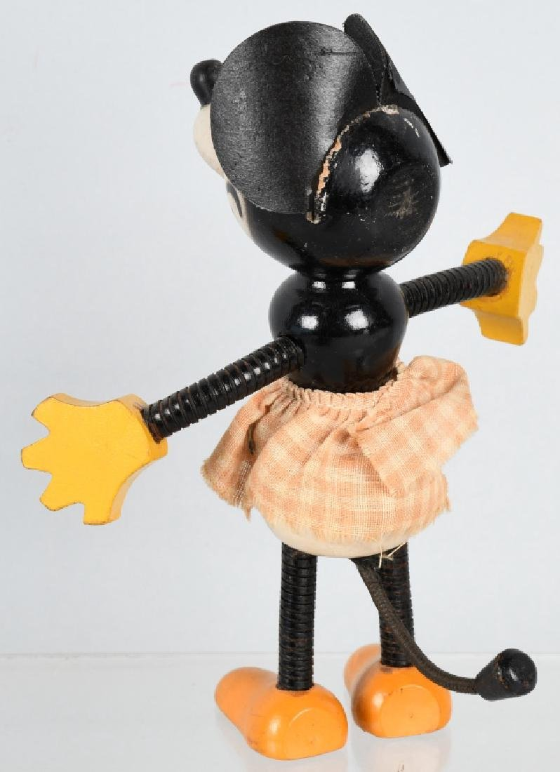 1930's FUN-E.FLEX MINNIE MOUSE JOINTED DOLL - 3