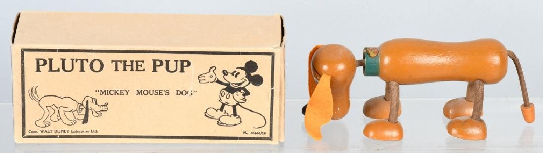1930's FUN-E.FLEX PLUTO JOINTED DOL, BOXED