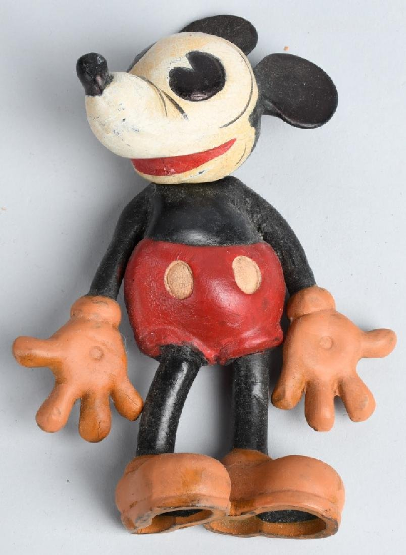 5-1930'S SEIBERLING RUBBER DISNEY CHARACTERS - 2