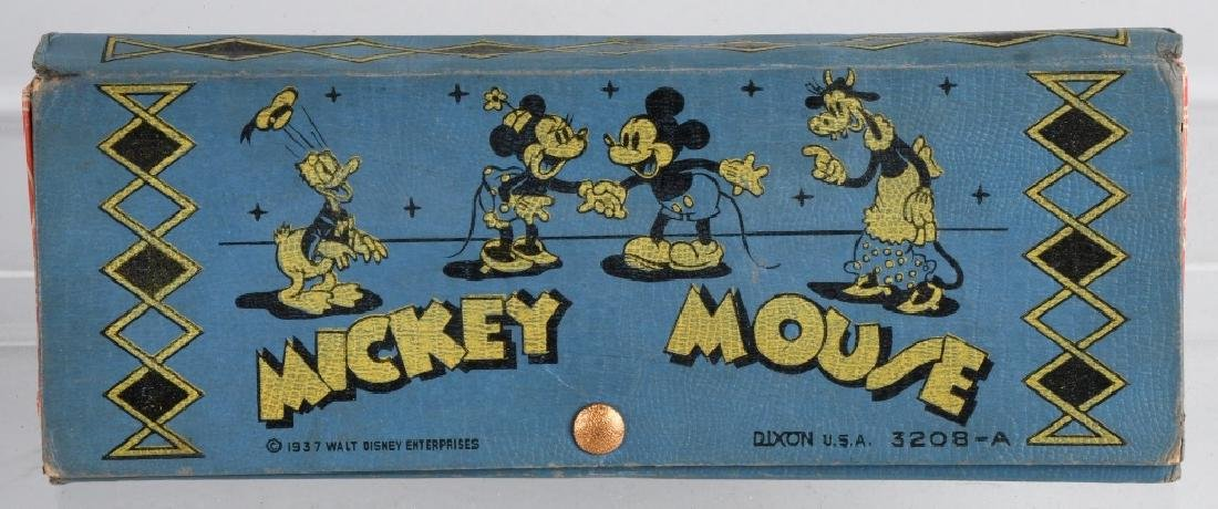 2-1930'S MICKEY MOUSE PENCIL BOXES, 1 FIGURAL - 6