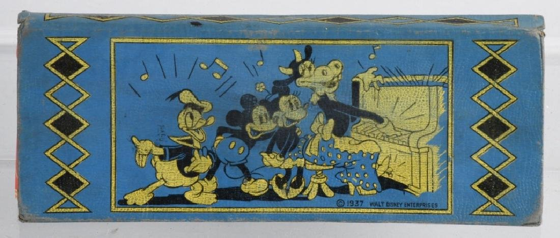 2-1930'S MICKEY MOUSE PENCIL BOXES, 1 FIGURAL - 7