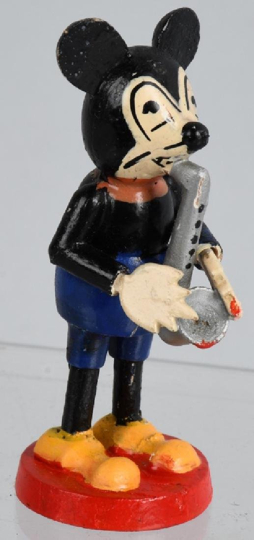 3-1930'S GERMAN MICKEY MOUSE BAND FIGURES - 2