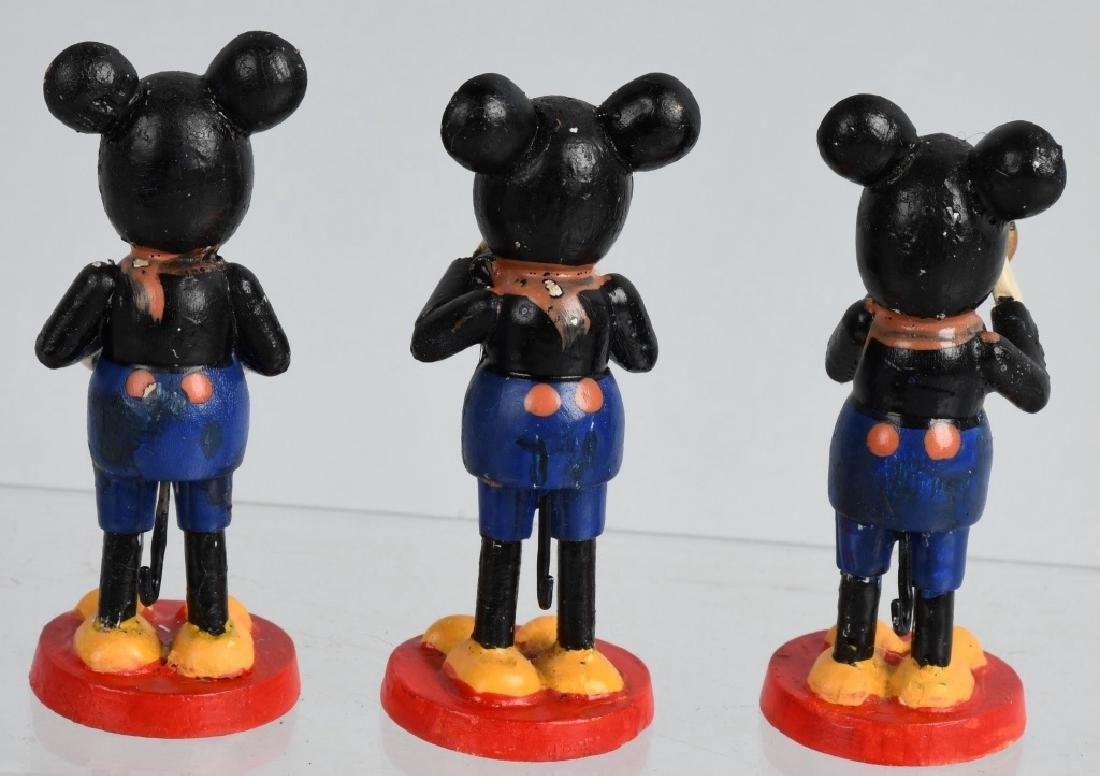 3-1930'S GERMAN MICKEY MOUSE BAND FIGURES - 5