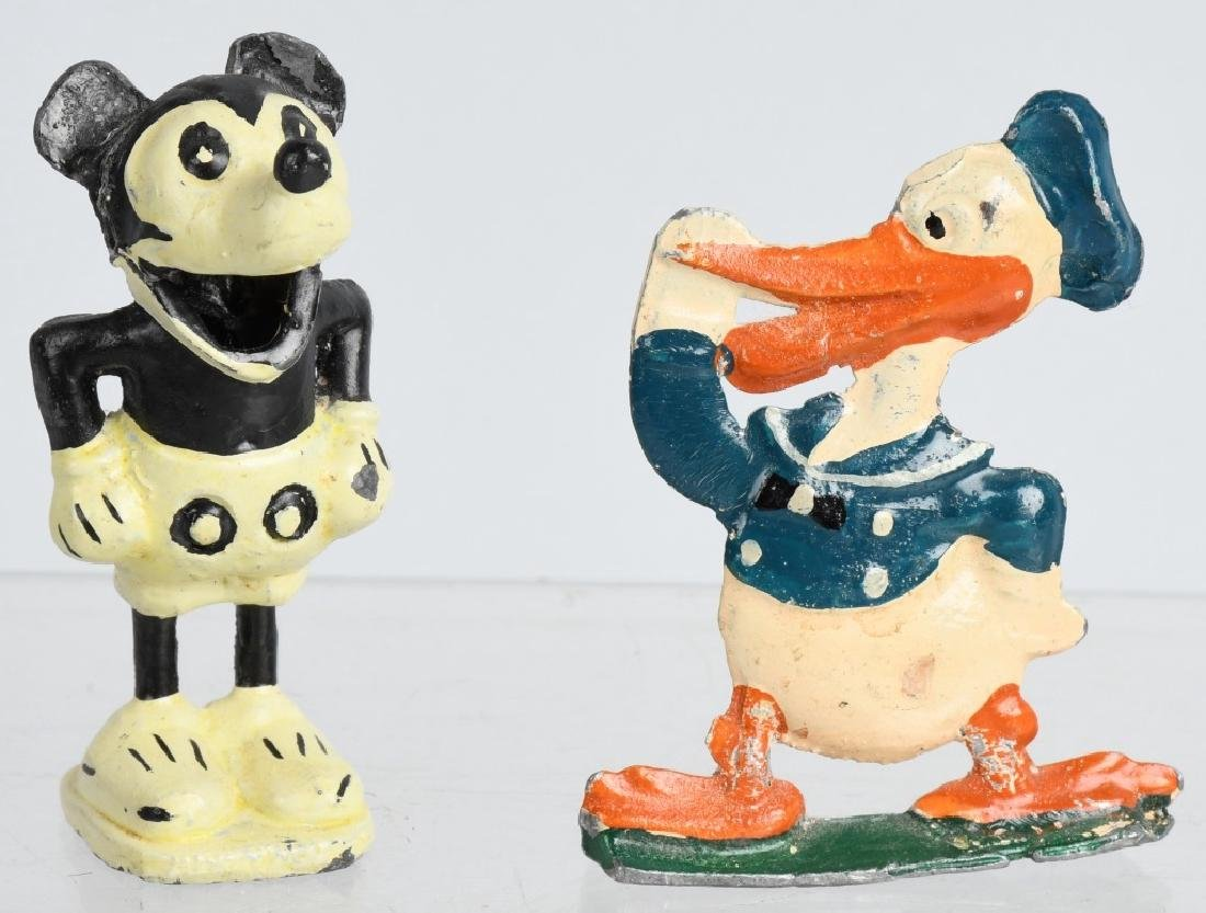1930's ALLIED DONALD DUCK & GERMAN MICKEY MOUSE