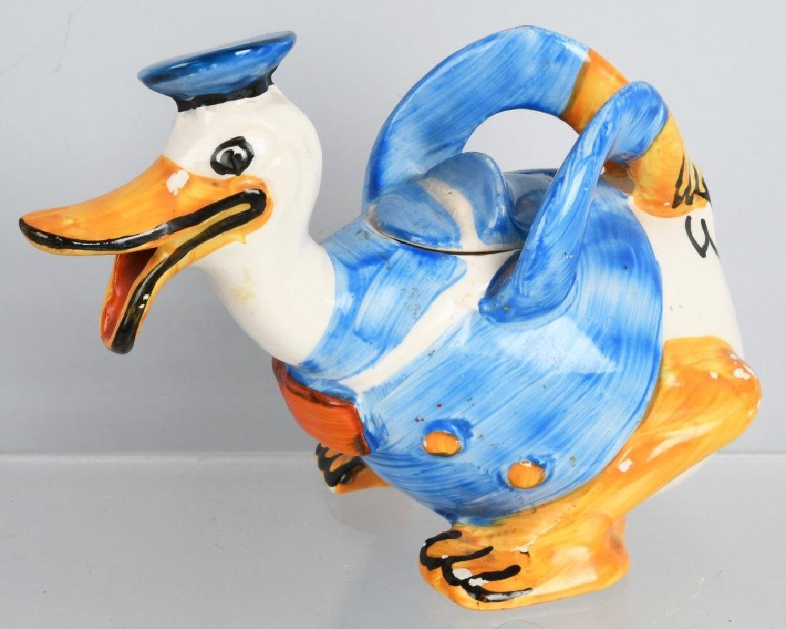 1930'S WADE DONALD DUCK FIGURAL CREAMER