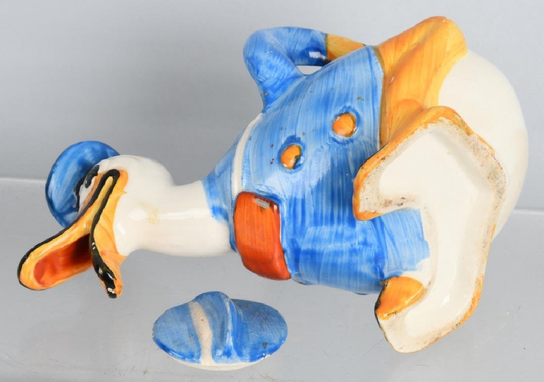 1930'S WADE DONALD DUCK FIGURAL CREAMER - 5