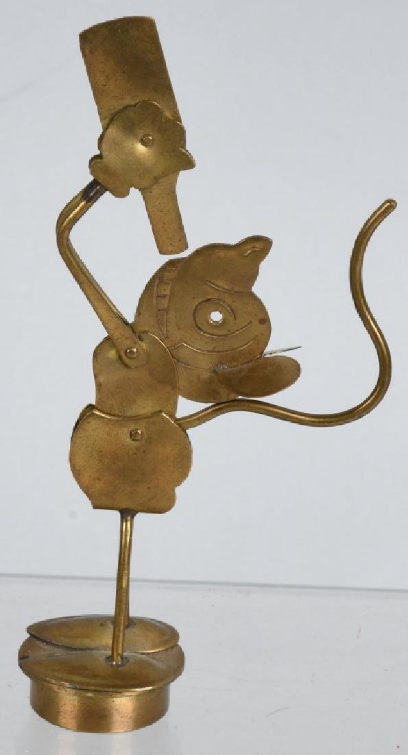 1930'S GERMAN MICKEY MOUSE MECHANICAL STOPPER - 3