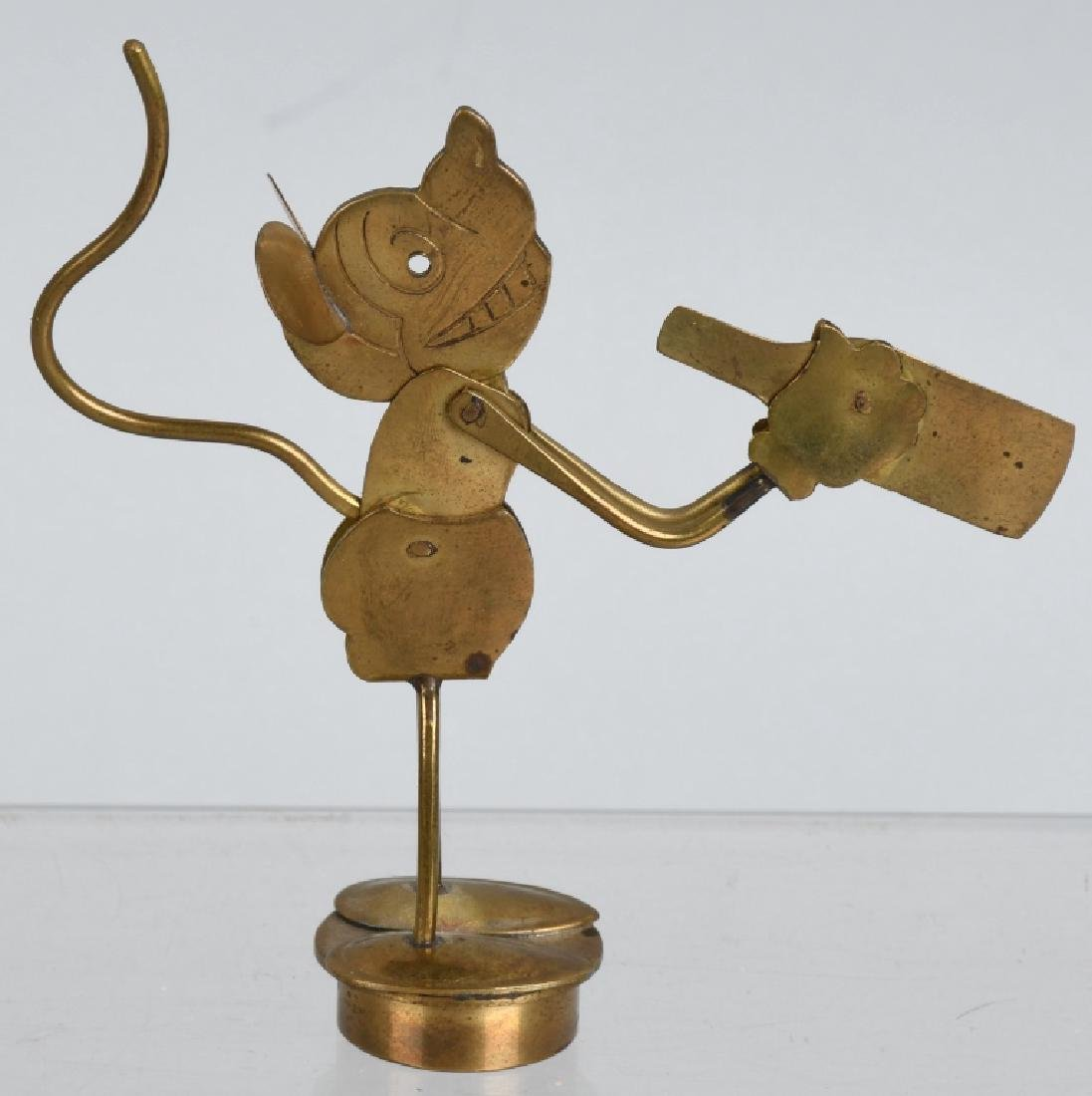1930'S GERMAN MICKEY MOUSE MECHANICAL STOPPER - 4