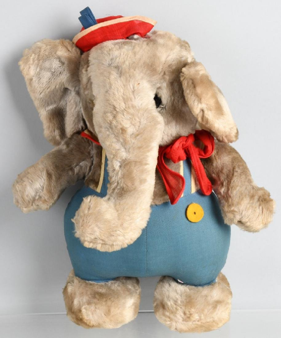 1938 KRUEGER ELMER the ELEPHANT DOLL