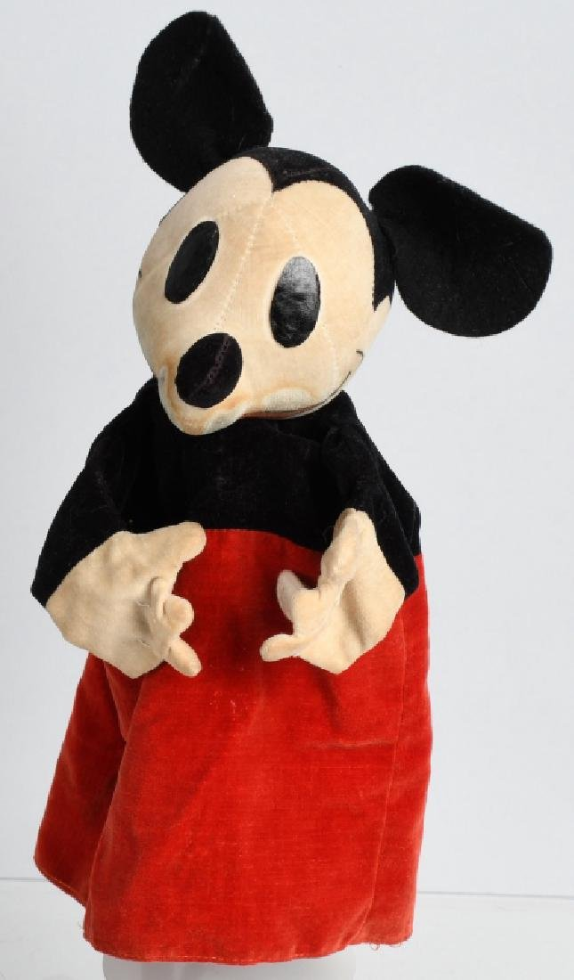 1930'S CHAD VALLEY MICKEY MOUSE PUPPET