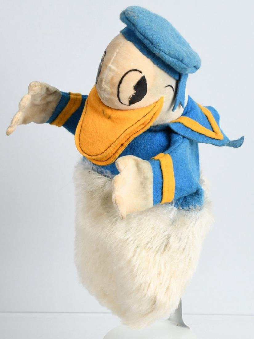 1930'S CHAD VALLEY DONALD DUCK PUPPET