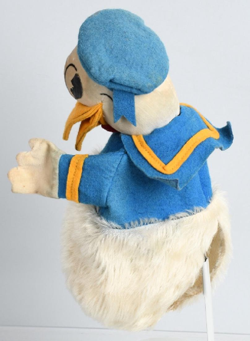 1930'S CHAD VALLEY DONALD DUCK PUPPET - 2