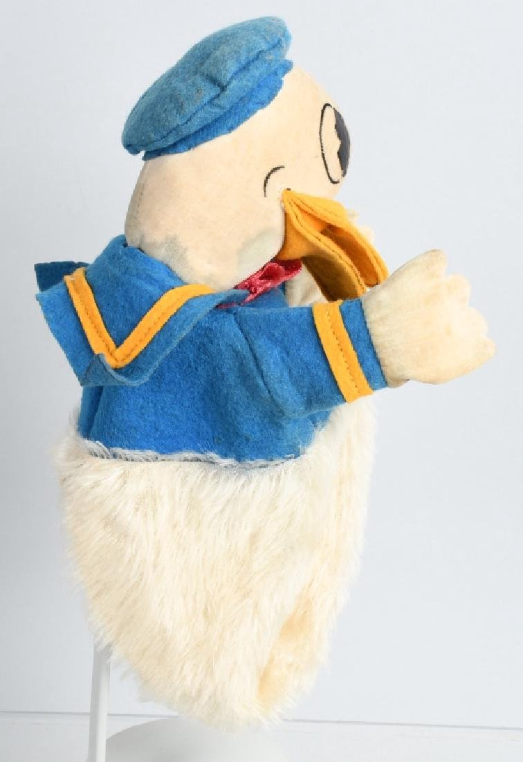 1930'S CHAD VALLEY DONALD DUCK PUPPET - 3