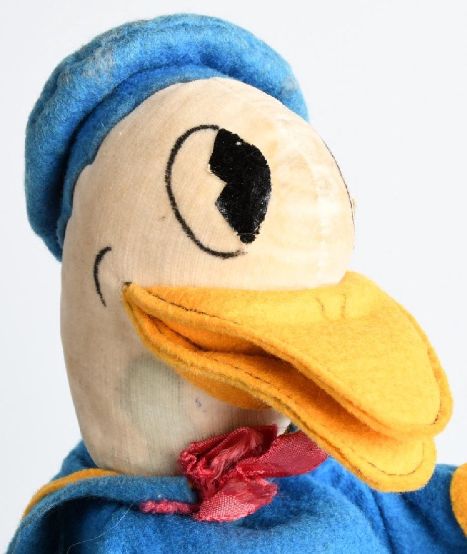 1930'S CHAD VALLEY DONALD DUCK PUPPET - 4