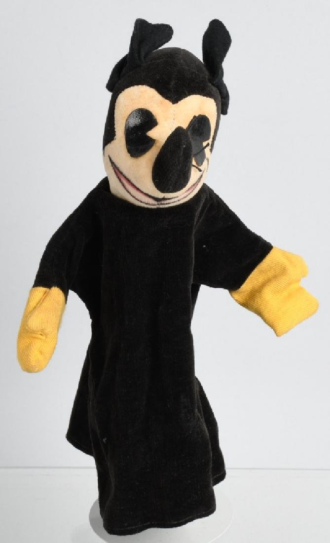 1930's KNICKERBOCKER MICKEY MOUSE PUPPET