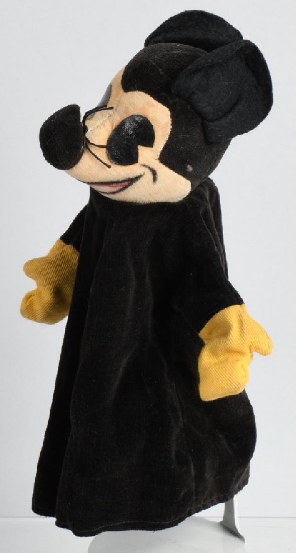 1930's KNICKERBOCKER MICKEY MOUSE PUPPET - 2