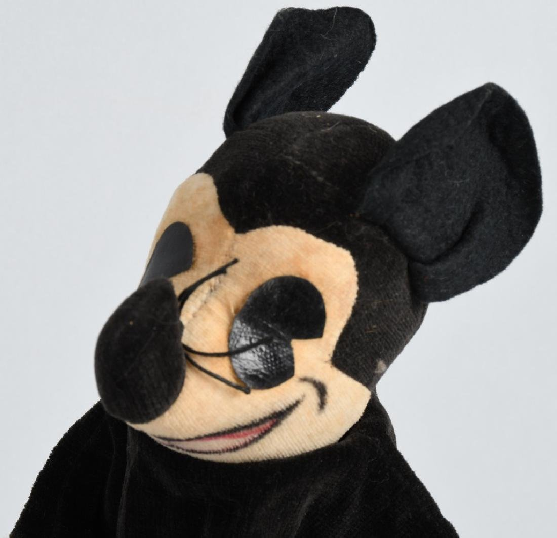 1930's KNICKERBOCKER MICKEY MOUSE PUPPET - 6