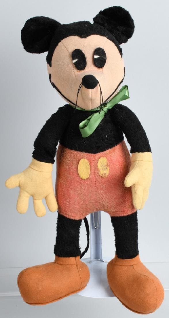 1930'S FRENCH MICKEY MOUSE LARGE SIZE DOLL