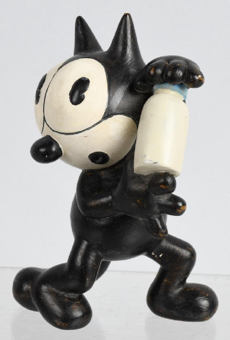 1930'S GERMAN FELIX the CAT RUBBER FIGURE