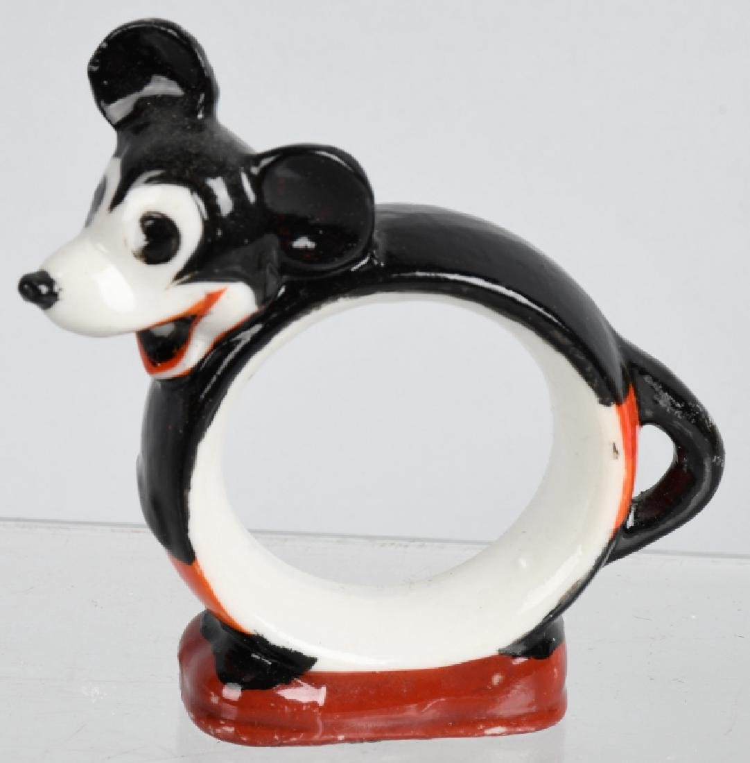 1930'S FLIP the FROG & MICKEY MOUSE BISQUE FIGURE - 5