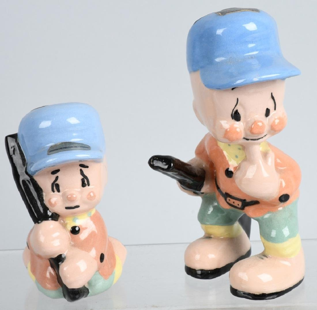 6-1940'S SHAW POTTERY LOONIE TUNES FIGURES - 4