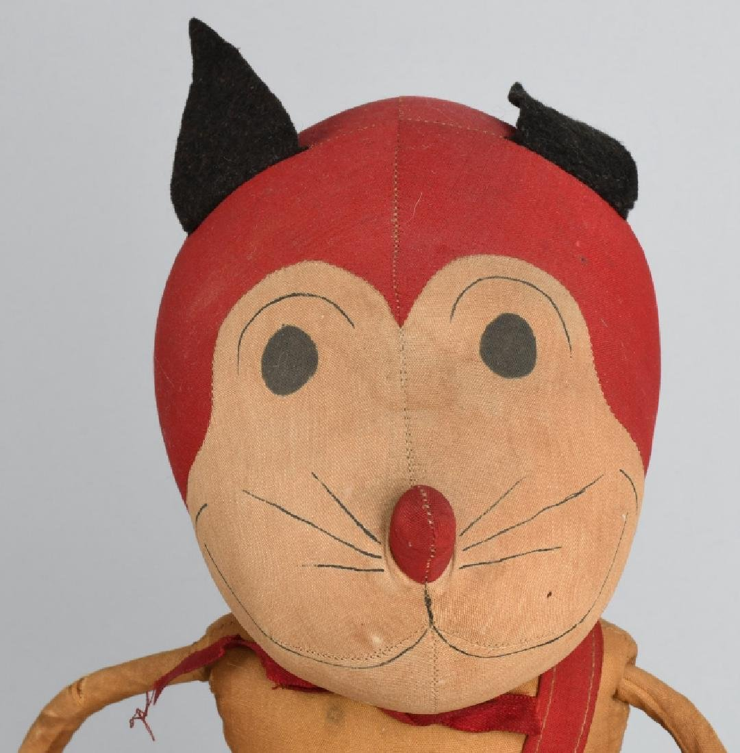 1930'S FAMOUS AESOP WAFFLES the CAT DOLL - 5