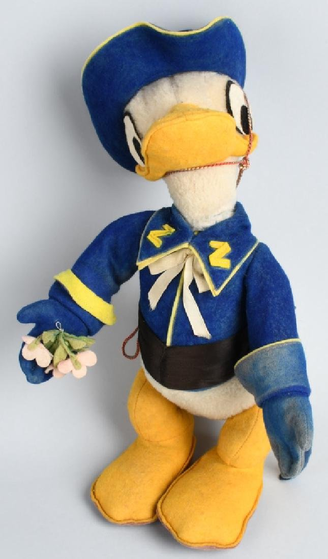 VINTAGE FRENCH DONALD DUCK as ZORRO DOLL