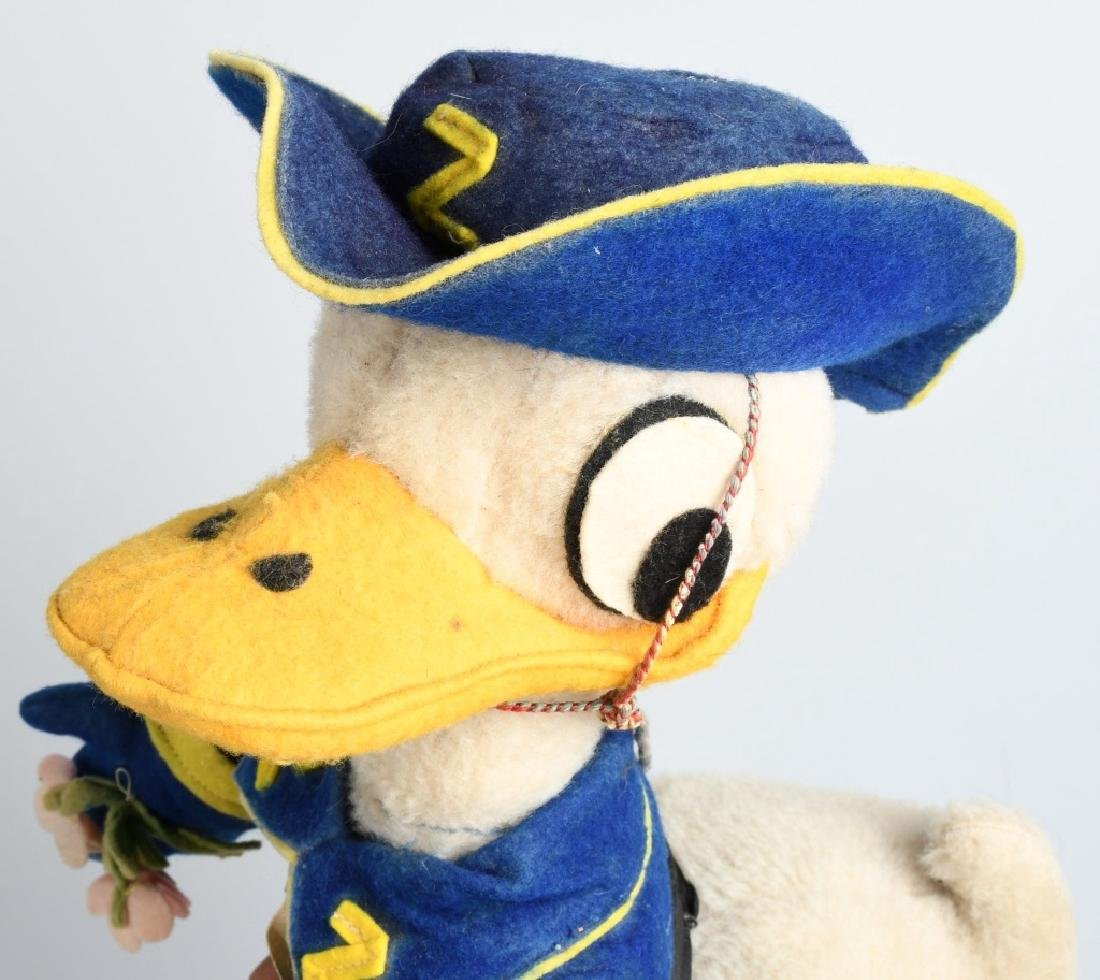 VINTAGE FRENCH DONALD DUCK as ZORRO DOLL - 2