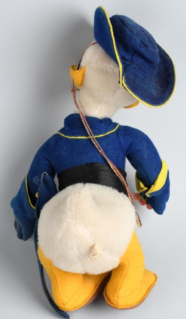 VINTAGE FRENCH DONALD DUCK as ZORRO DOLL - 3