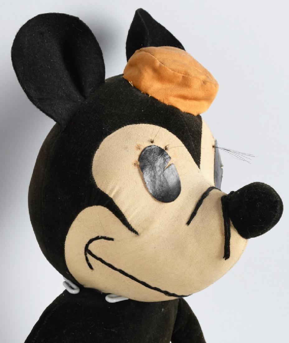1930'S CHARLOTTE CLARK LARGE MINNIE MOUSE DOLL - 2